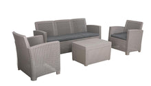 Load image into Gallery viewer, Denver Polypropylene- Coffee Lounging Set- Grey