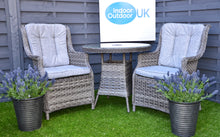 Load image into Gallery viewer, Hatherton Rattan- Bistro Set- Grey