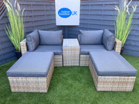 The Leon Modular Sun Lounger Set