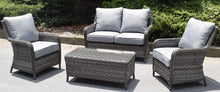 Load image into Gallery viewer, Hatherton Rattan- Sofa Set- Grey Or Natural