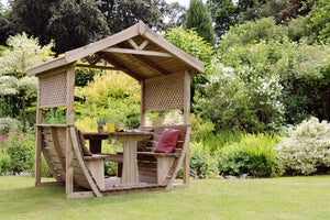 The Snug Wooden Garden Arbour END OF JULY AVAILABILITY