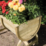 The Beer Barrel Planter