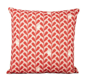 Red Birds cushions ( x6 in a set )