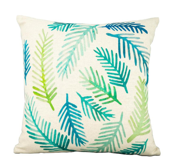 Fern Leaf cushion ( x6 in a set )