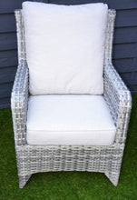 Load image into Gallery viewer, Sahara 3 Piece Rattan Set- In Grey