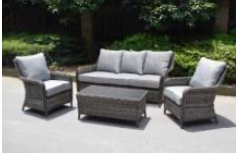 Hatherton Rattan- Sofa Set- Grey Or Natural