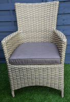 The Derby Rattan Dining Set