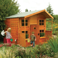 The Big Den Outdoor Wooden Playhouse