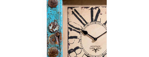 Upcycled Window Clock