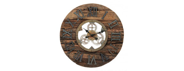 Sillipar Wooden Clock with Iron Bearing