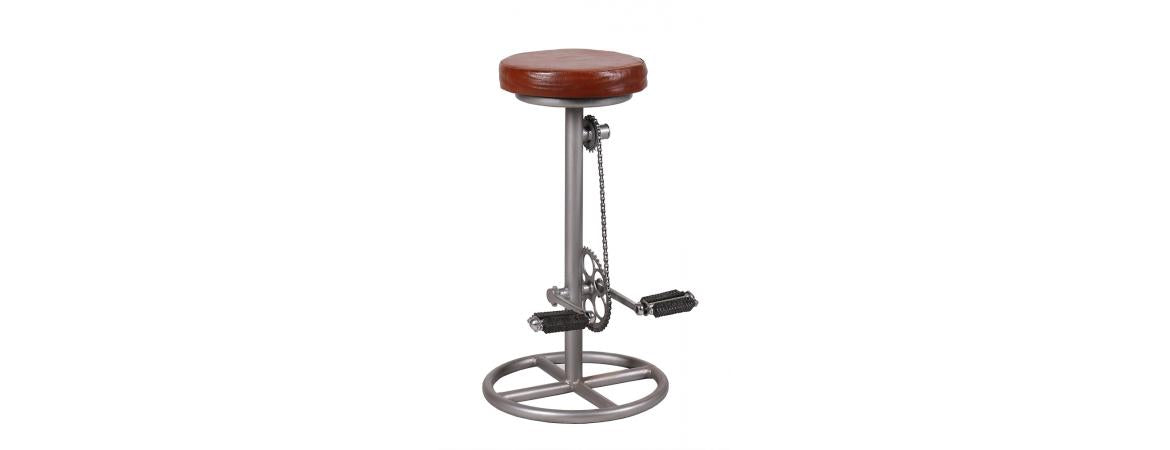 Industrial Retro Kitchen Bar Pedal Stool