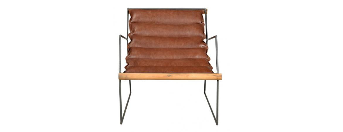 Leather One Seater Sofa