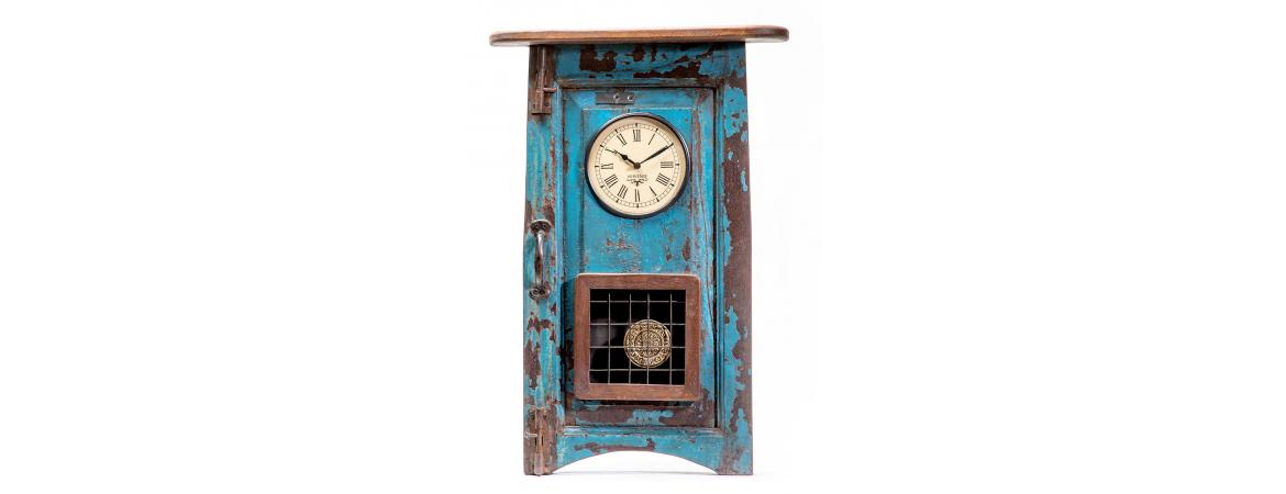 Upcycled Window Clock with Pendulum