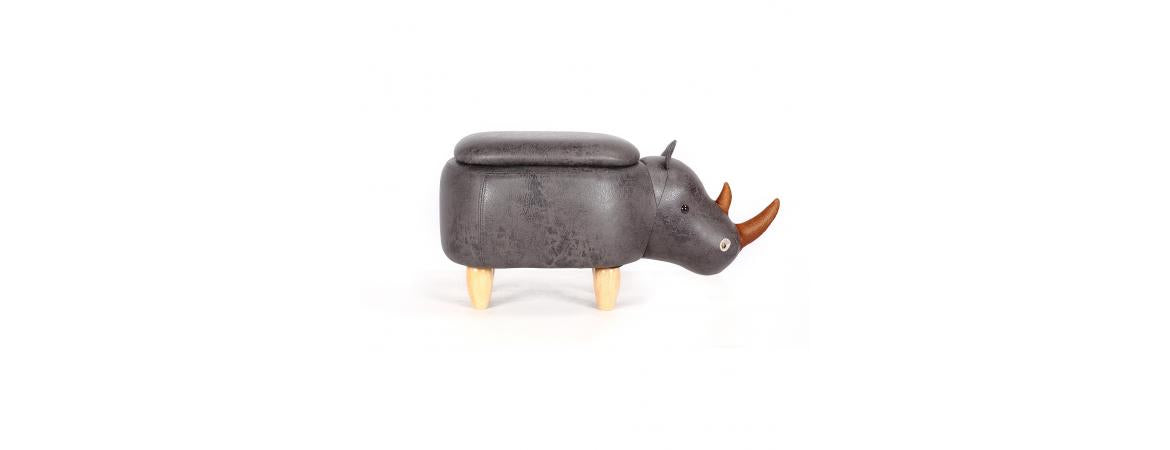 Rhinoceros Ottomans