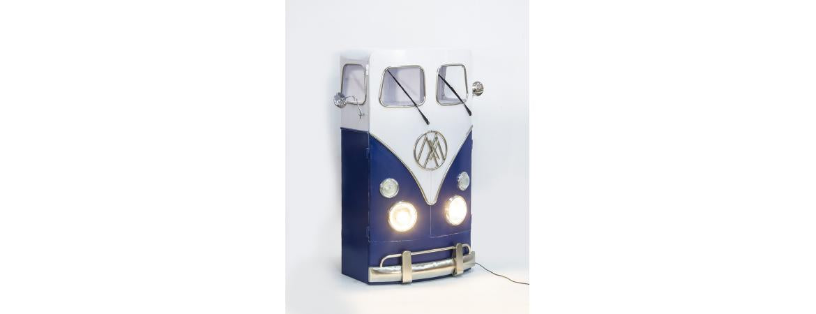 VW Tall Cabinet With Lights