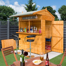 Load image into Gallery viewer, The Wooden Siesta Outdoor Garden Bar (END JUNE DELIVERIES  )