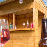 The Wooden Siesta Outdoor Garden Bar