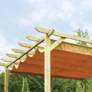 The Armitage Wooden Garden Canopy