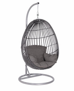 Swing Egg Chair- In Grey