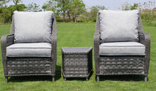 Load image into Gallery viewer, Hatherton Rattan- Tete a Tete Set- Grey or Natural