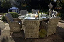 Load image into Gallery viewer, Tuscany Oval- 6 Seater Highback Comfort Dining Set