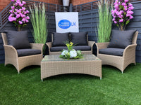 The Vancouver 2 Seat Rattan Garden Sofa Set