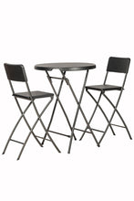 Load image into Gallery viewer, The Rome Outdoor Bar Stool Set