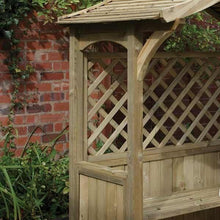 Load image into Gallery viewer, The Bideford Wooden Garden BBQ Shelter