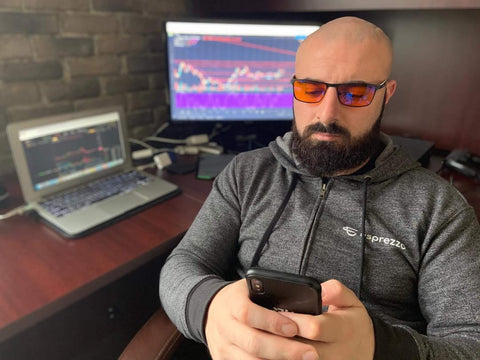 blue blockers for traders
