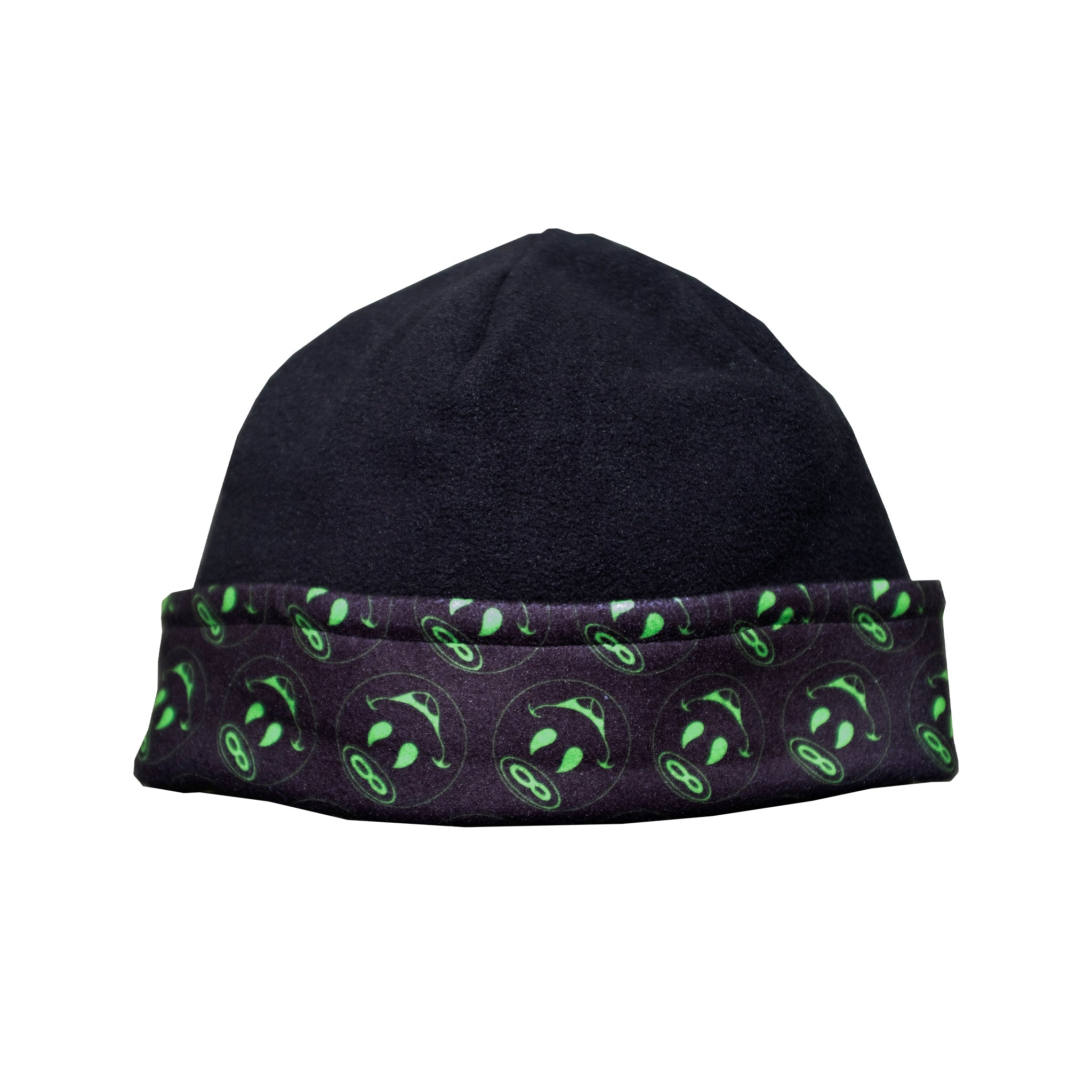 REVERSIBLE SMILEY - FLEECE  BEANIE