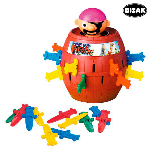 Poke the Pirate Game Bizak T7028