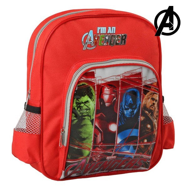 School Bag The Avengers 54679 Red