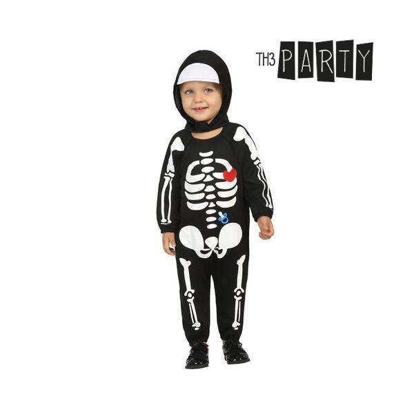 Costume for Babies Th3 Party 1903 Skeleton