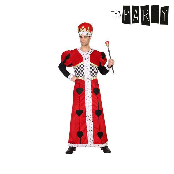 Costume for Adults Th3 Party King of hearts