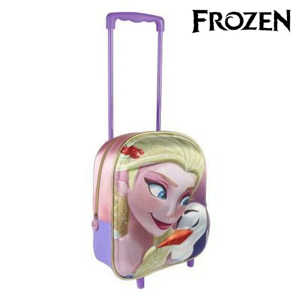 3D School Bag with Wheels Frozen mochila escolar