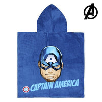 Poncho-Towel with Hood Captain America The Avengers 74171