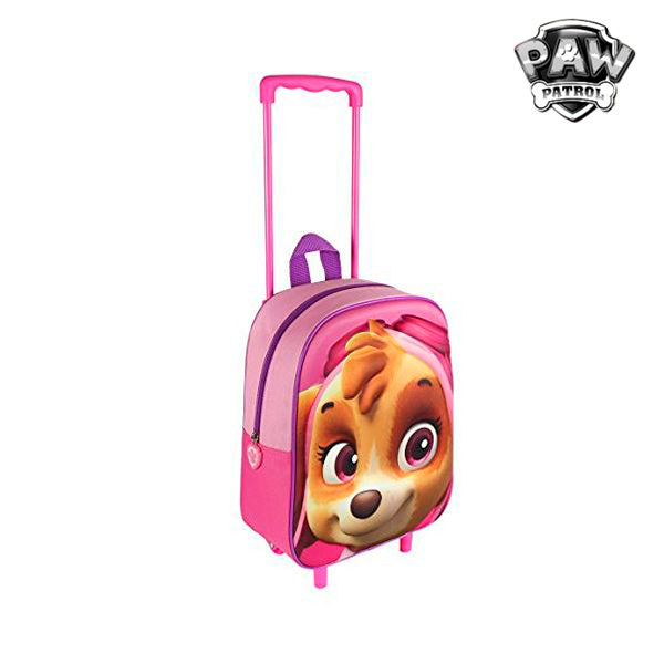 3D School Bag with Wheels The Paw Patrol - Marinette Store ropa infantil