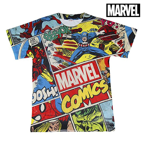 Child's Short Sleeve T-Shirt Marvel 71985 Multicolour