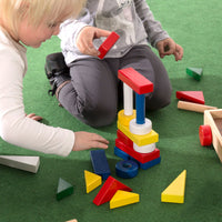 Building Blocks with Trolley (24 pieces)