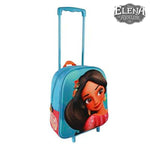 3D School Bag with Wheels Elena de Avalor 890 - Marinette Store mochila