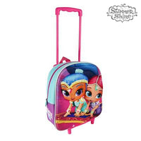 3D School Bag with Wheels Shimmer and Shine 913 - Marinette Store ropa infantil