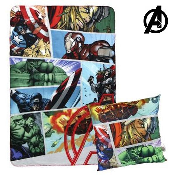 Blanket & Cushion The Avengers 792 - Marinette Store ropa infantil