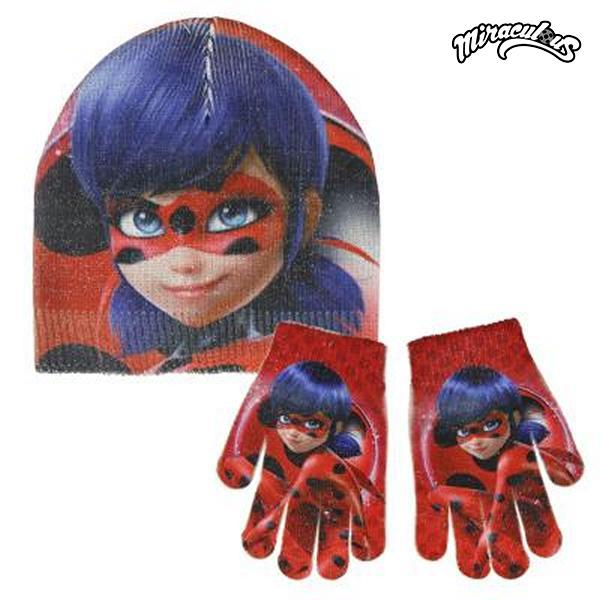 Hat & Gloves Lady Bug 049