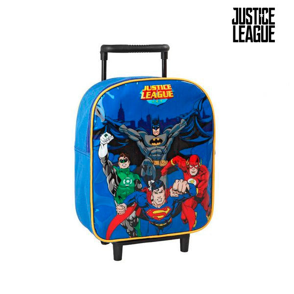 School Rucksack with Wheels Justice League 1608 - Marinette Store ropa infantil