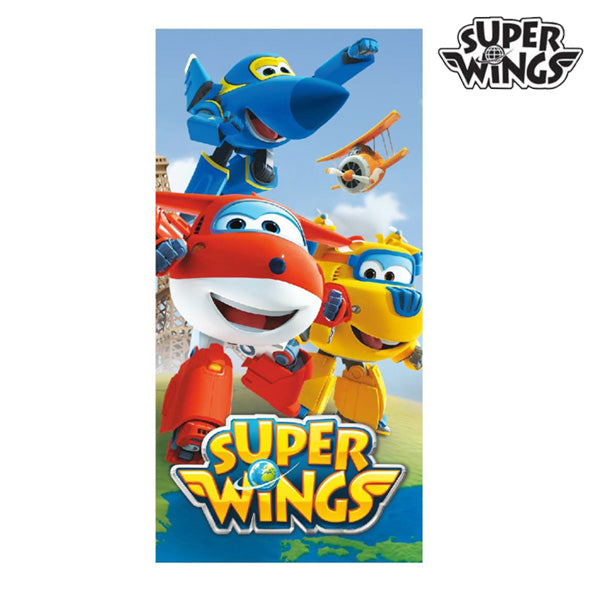 Blue Super Wings Beach Towel - Marinette Store ropa infantil