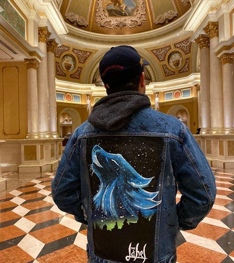 WOLF DENIM JACKET