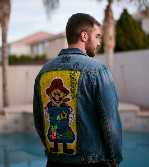 LUIGI GOODS DENIM JACKET