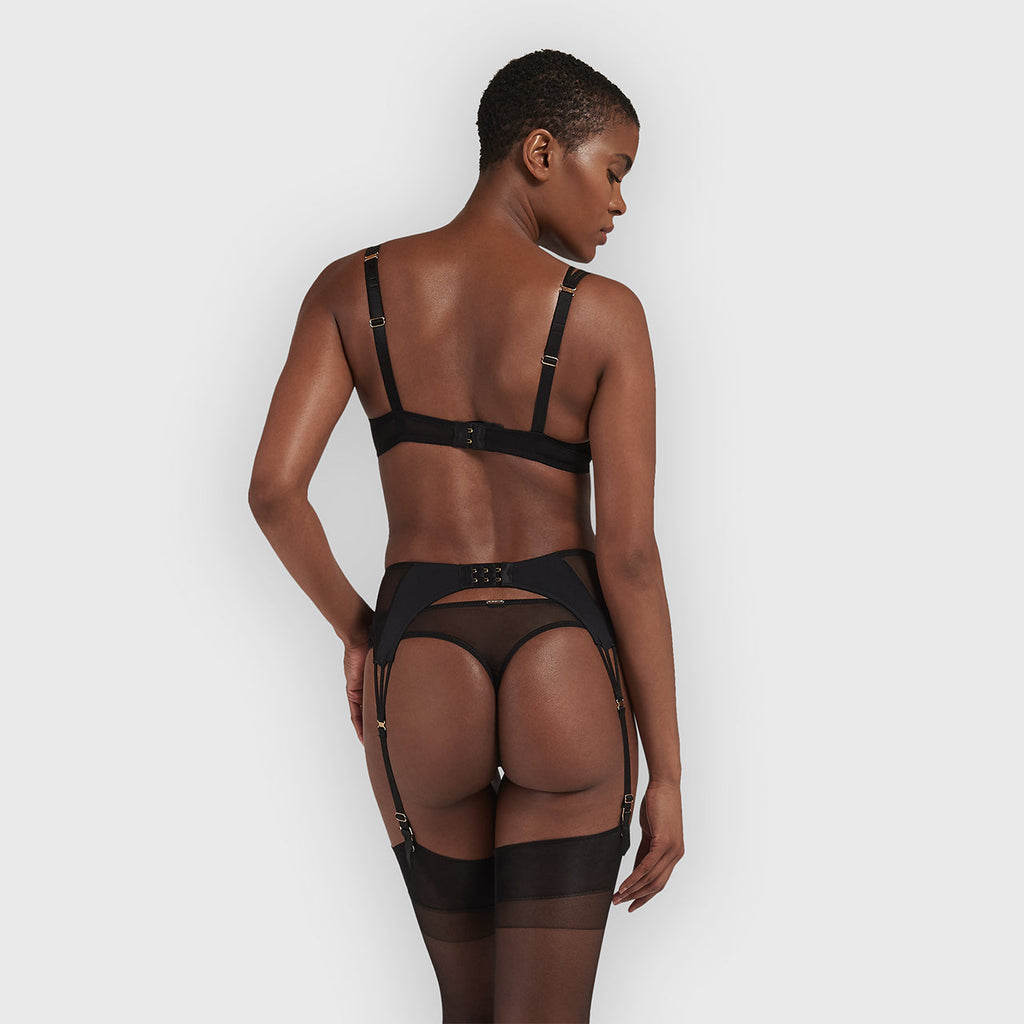 Laura Suspender Black