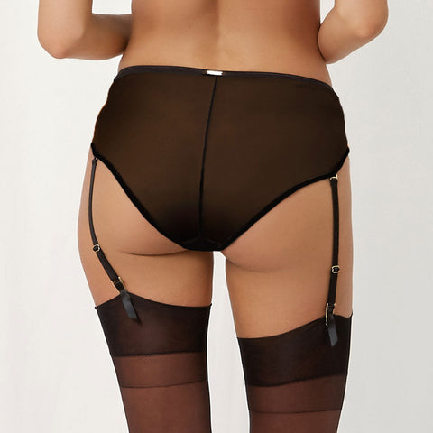 MORE Artemis High-waist Suspender Brief