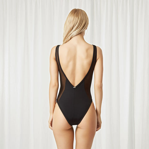 Catalan Swimsuit Black